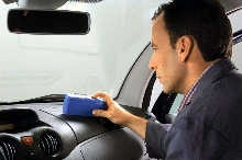 Glossmeter facilitates QC of automotive interiors.