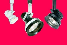 Track Lighting Heads suit retail/commercial applications.