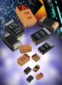 Tantalum Capacitors target military applications.