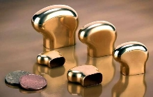 Solid Gold Electroforms are custom-made to requirements.