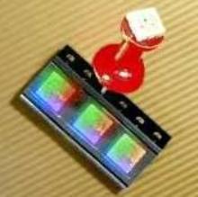 RGB LEDs emit high-intensity light.