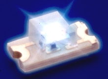 SMT LEDs provide indicator and display lighting.