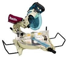 Compound Miter Saws feature built-in laser for accuracy.