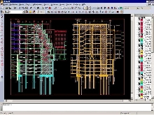 CAD Software performs hybrid processing and vectorization.