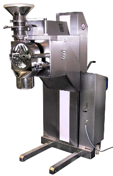 Impact Mill handles dry and moist ingredients.