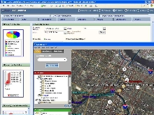Software integrates with GIS system.