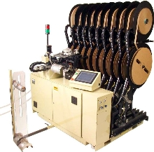 Multi-Reel Rewinder suits high-speed stamping processes.