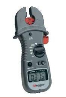 Digital Clamp Meter features dual function clamp.