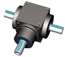 Bevel Gearboxes have compact, rigid design.
