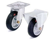 Metric Casters feature heat-resistant tires.