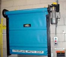 Conveyor Door separates material handling flow.
