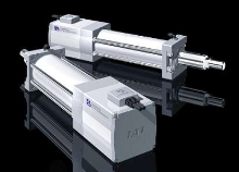 Electric Actuators achieve max push force of 6,000 N.
