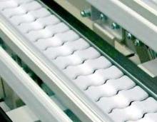 Conveyor Chain provides gentle handling.