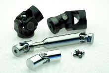 Universal Joints feature sealed lubricated needle bearings.