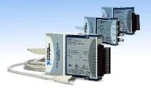 USB DAQ Devices provide sampling rates up to 800 kS/s.