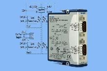 CAN Interface Module controls in-vehicle DAQ.