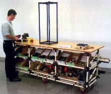 Portable Assembly Tables suit material handling applications.
