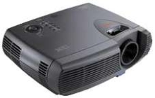 DLP Projector has lightweight, compact design.