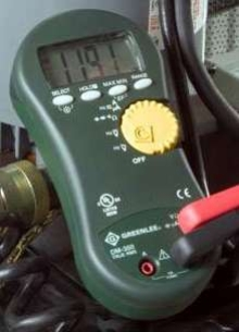 Digital Multimeters feature single probe detection.