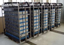 Submerged Membrane Modules provide wastewater treatment.