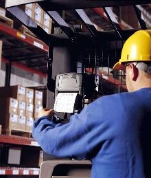 Mobile Label Printing Solution is designed for forklifts.
