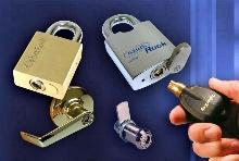 Electronic Padlocks provide key control and audit trail.