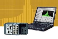 Digital Signal Analyzer measures sound and vibration.
