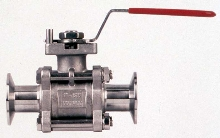 Hand Lever Ball Valve suits high-purity applications.