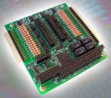 PC/104 Utility Board offers 36 channels of I/O.