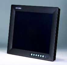Flat Panel Monitors feature USB interface for touch screen.