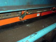 Skirting prevents material spillage from conveyors.