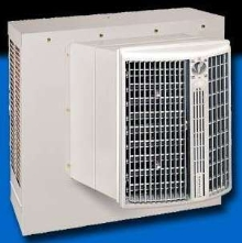 Evaporative Cooler has space-saving design.