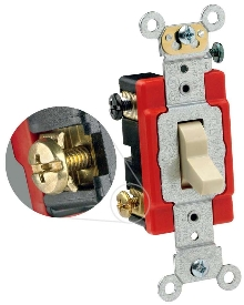 Industrial Switches feature backwire clamp design.