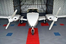 Aviation Flooring is suited for hangars and workshops.