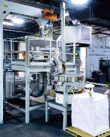 Fluid Bed Dryer-Screener System utilizes constant airflow.