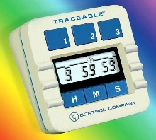 Portable Lab Timer is traceable to NIST standards.