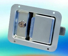 Push-To-Close Latch offers lockable security.