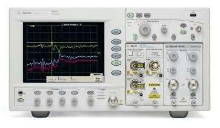 Oscilloscope offers S-parameter and impedance analysis.