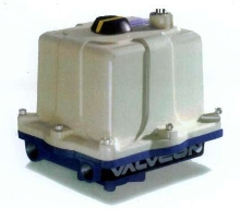 Electric Actuators provide up to 3,000 lb-in. of torque.