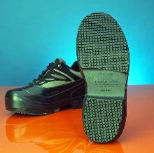 Over-The-Shoe Footwear provides slip resistance.