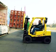Lift Trucks offer capacities from 4,000-7,000 lb.