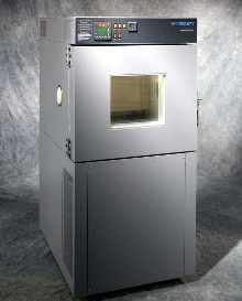 Temperature Test Chamber offers 4 cu-ft interior workspace.