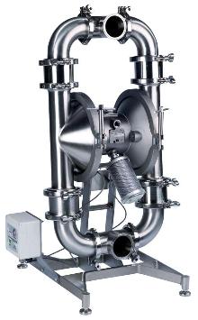 Sanitary Diaphragm Pumps have quick knock down design.