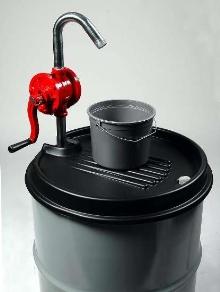 Drum-top Dispenser helps control spills.