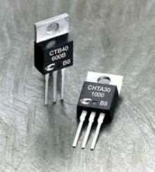 SCRs and TRIACS suit range of power switching applications.