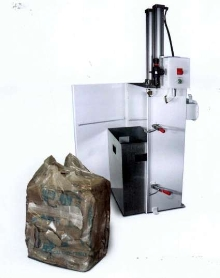 Bag Compactor solves bag disposal problems.