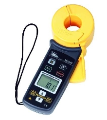 Clamp Meter provides ground rod resistance measurement.