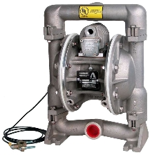 Diaphragm Pump improves safety in working areas.