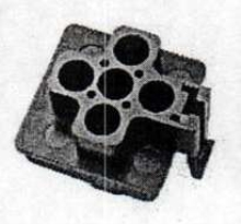 Automotive Relay Socket features sealed construction.
