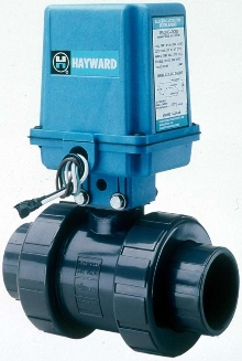 Automated Ball Valves feature all-plastic construction.